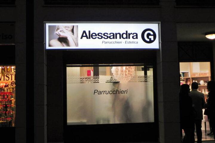 Inaugurazione salone Alessandra G