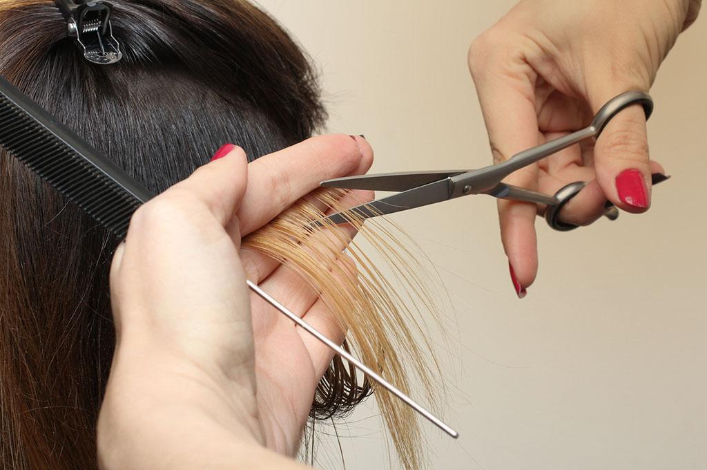 taglio capelli moderno