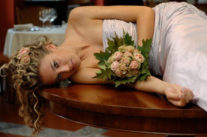 Servizio fotografico sposa Relais Toulà Monaco
